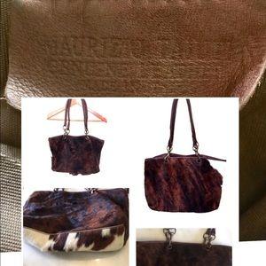 Maurizio Taiuti Tote Genuine Leather Mad.in Italy
